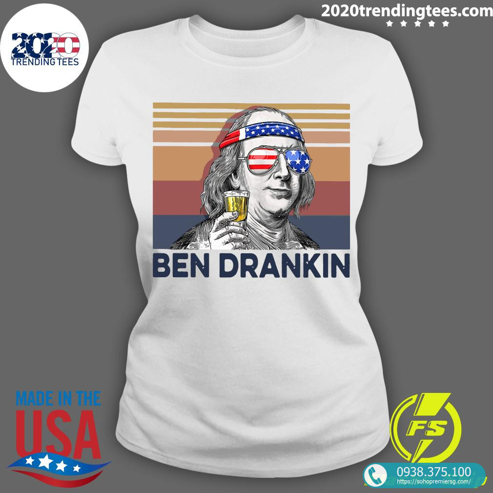 US Drink Ben Drankin Shirt