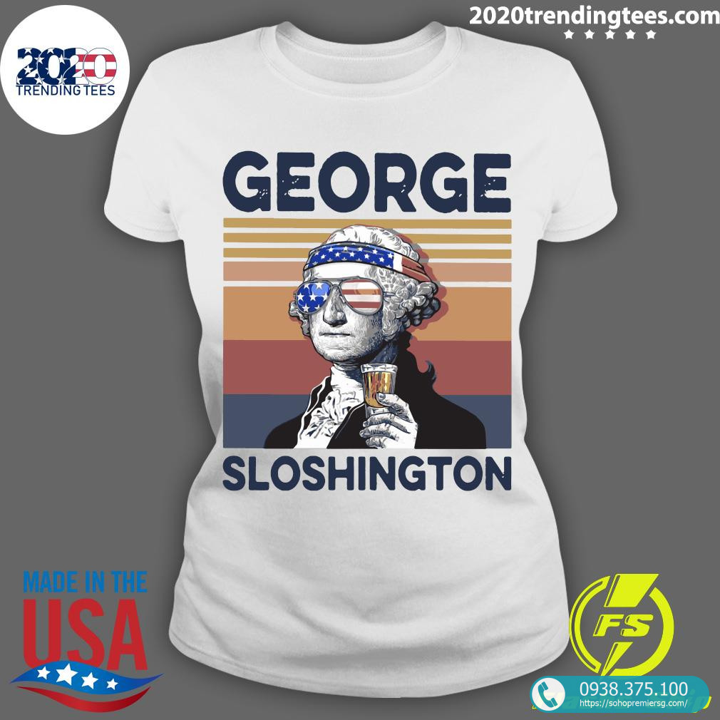 US Drink George Washington Shirt